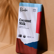 60% coconut milk organic chocolate bar