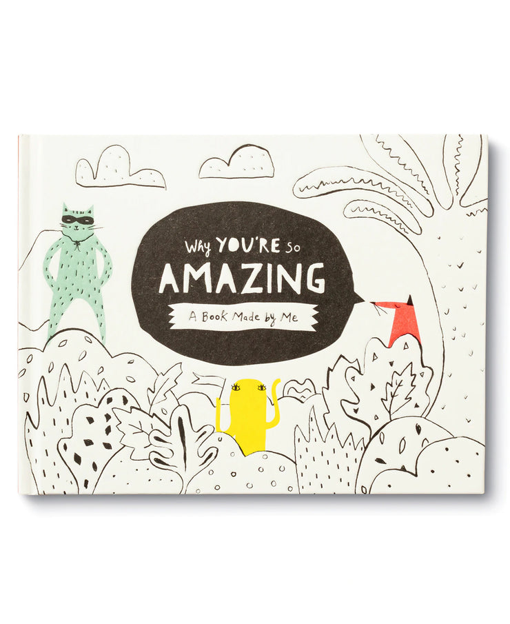 why you're so amazing fill-in book