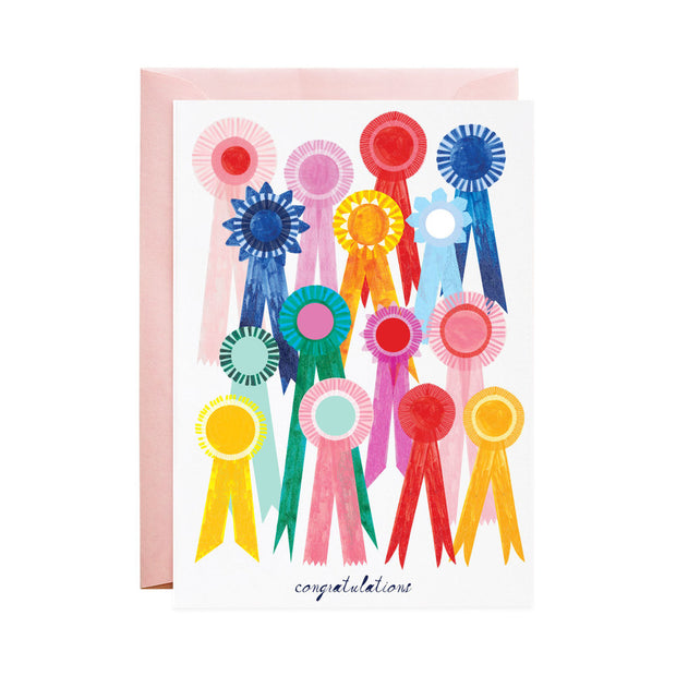 first place ribbon card