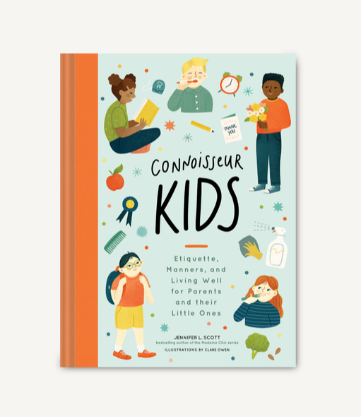 connoisseur kids etiquette book