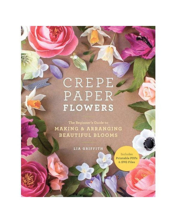 crepe paper flowers book