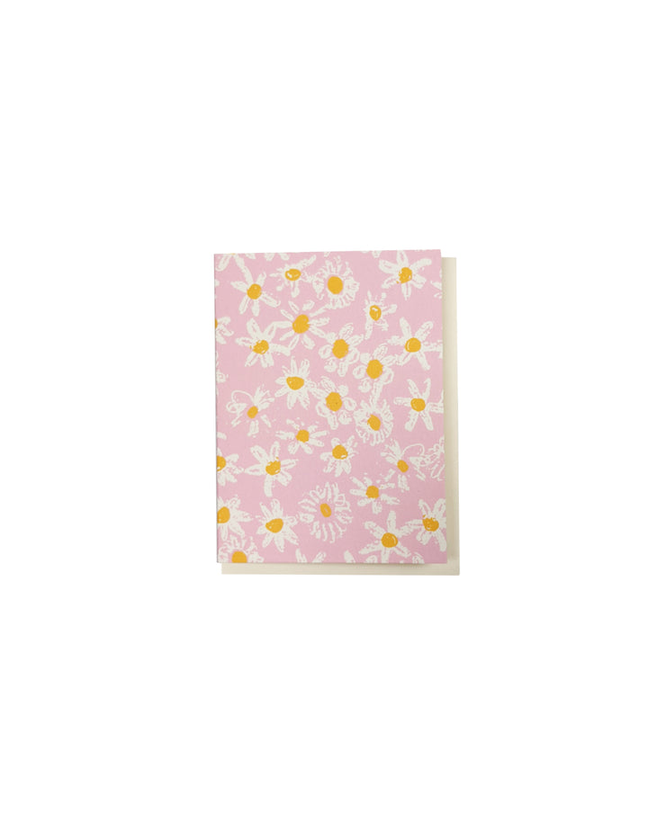 pink daisy fields petite enclosure card