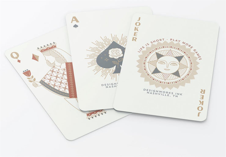 vintage style playing cards decks