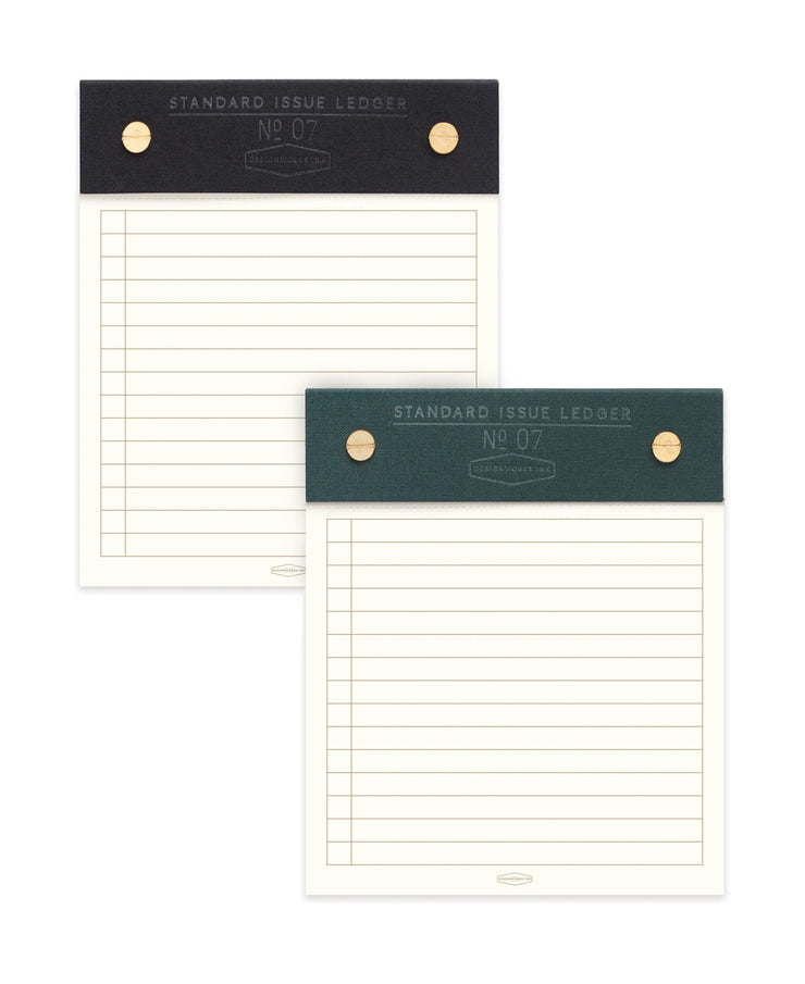 standard issue post bound notepads