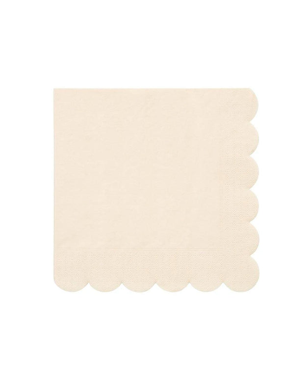 cream simply eco large napkins