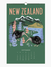 2021 explore the world wall calendar