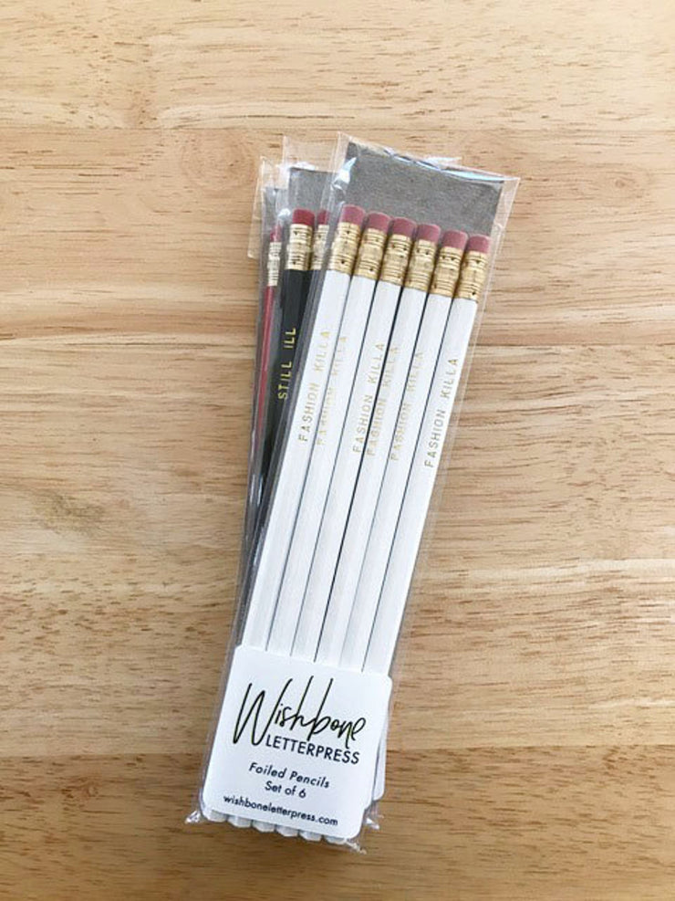 fashion killa pencil set