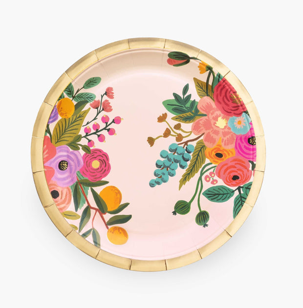 garden party large paper plates
