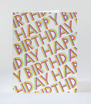 typo prism birthday card
