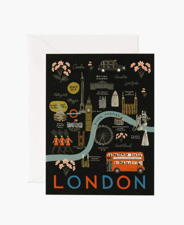london illustrated card