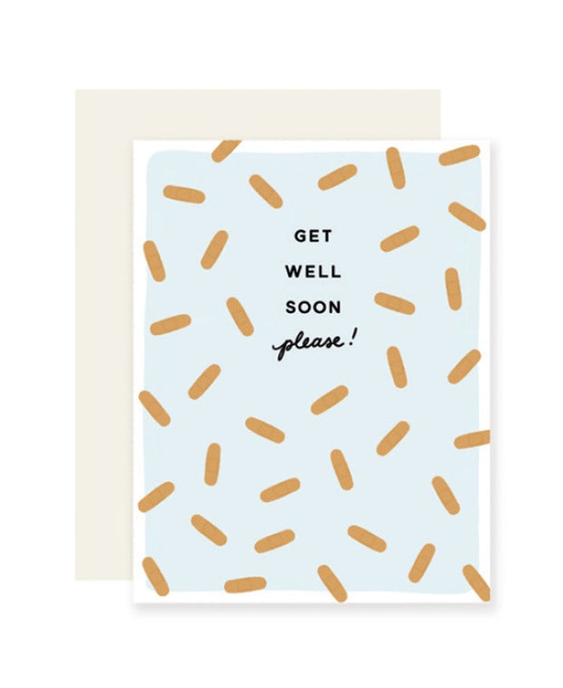 get well soon please card