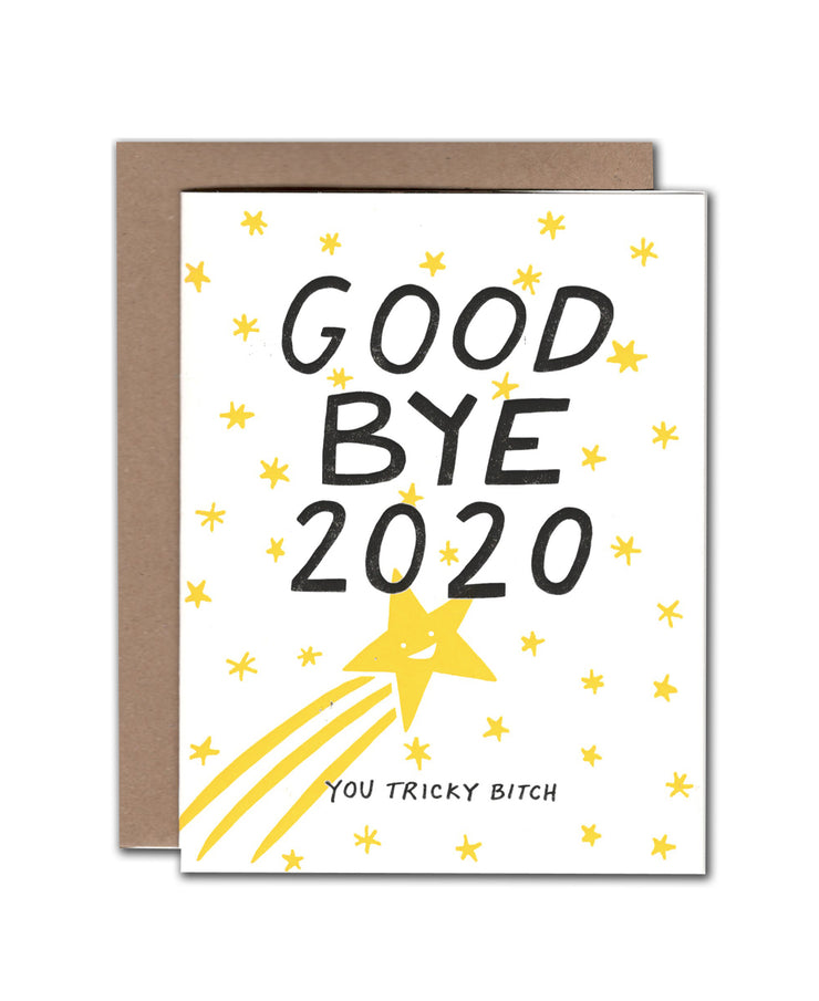 goodbye 2020 card