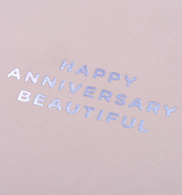happy anniversary beautiful card