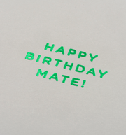 happy birthday mate card
