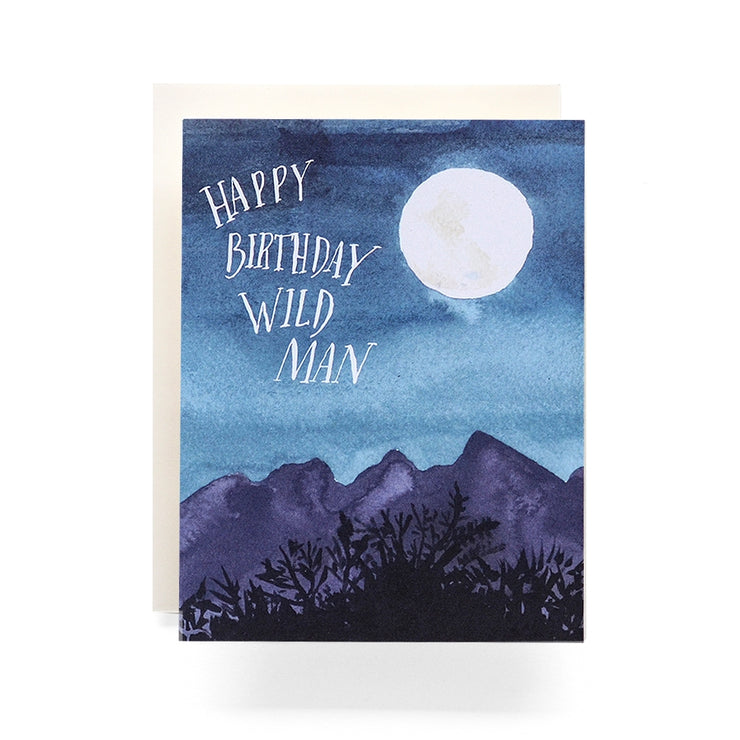 wildman birthday card