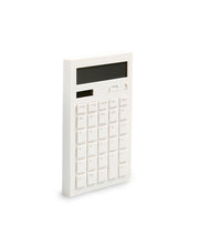 modern white desk calculator