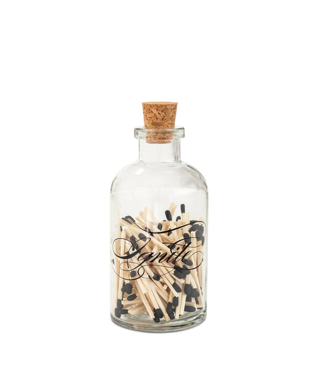 ignite calligraphy small match bottle