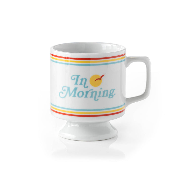 in morning ceramic mug