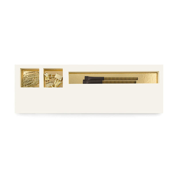 jotblock notepad & accessories set with gold foil