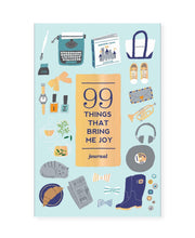 99 things that bring me joy journal
