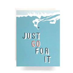 just go for it card