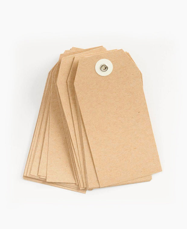 kraft hang tags - set of 25