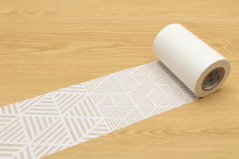 decorative translucent tape - lace triangle