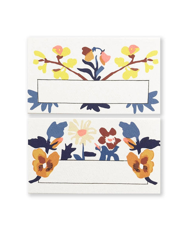 laura florals assorted mini notes - set of 48