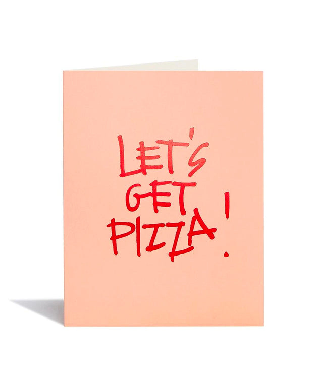 lets get pizza card