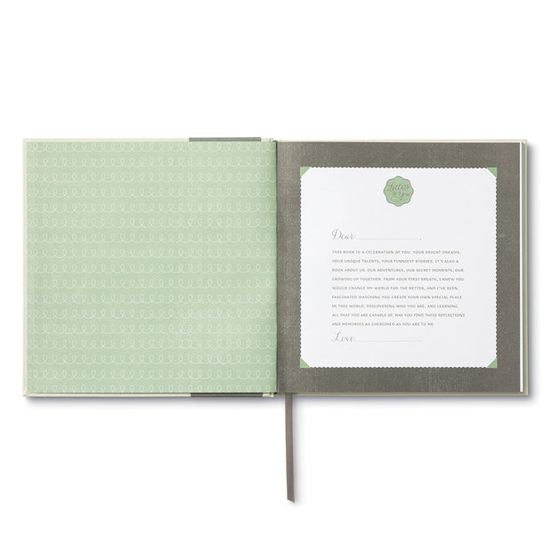 letters to you keepsake book - a letter to your child each year