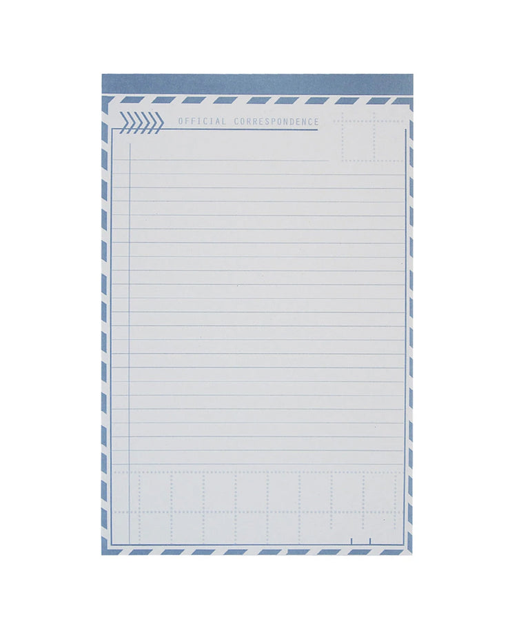 letter writing notepad