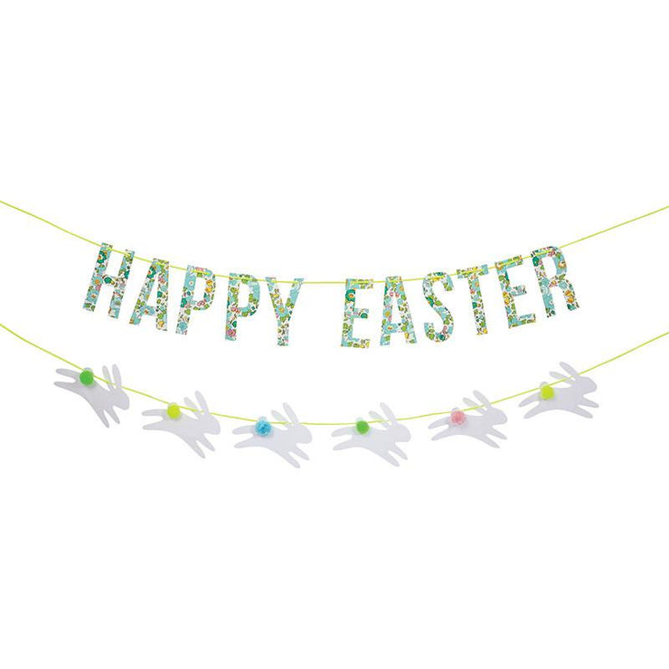 liberty spring easter garland
