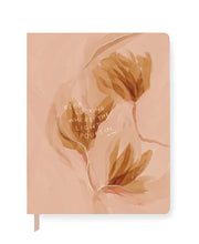 morgan harper nichols blush floral large paperback journal