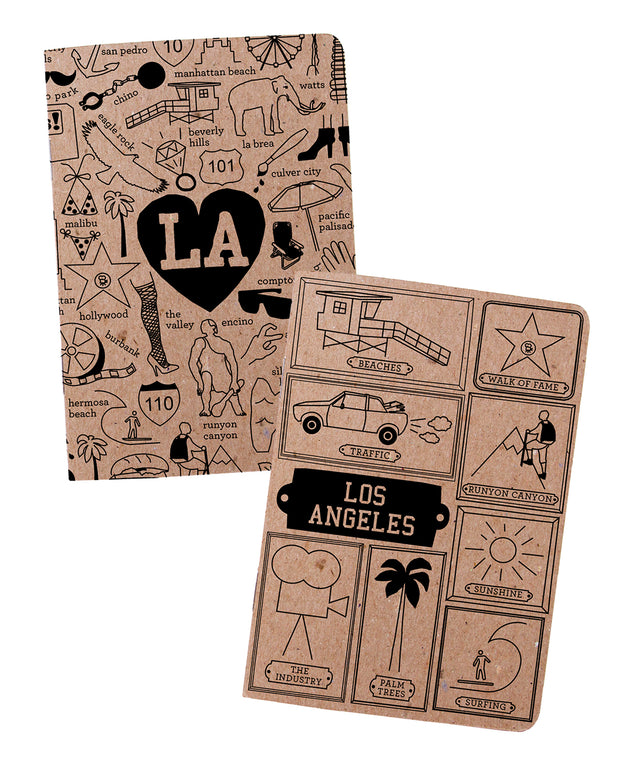 los angeles notebooks