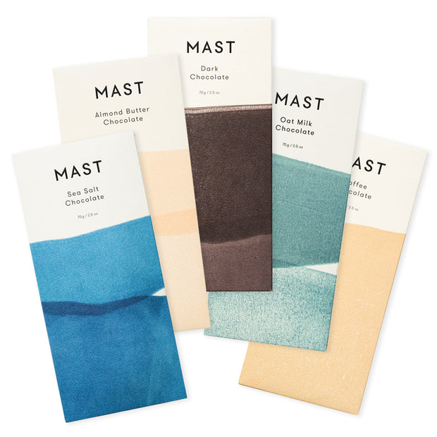 mast brothers classic chocolate bars - assorted flavors