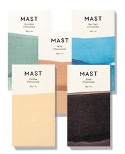 mast brothers mini chocolate bars- assorted flavors
