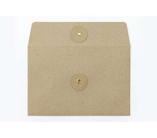 medium kraft envelopes w/ string closure - set of 8