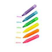 mini monsters scented neon markers