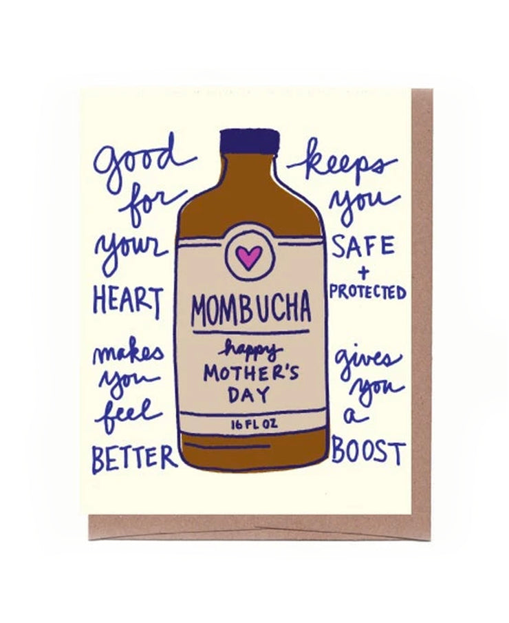mombucha mother's day card