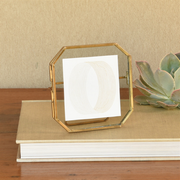 monroe brass easel float frames