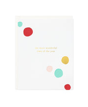 the most wonderful time holiday card - single or set of 6
