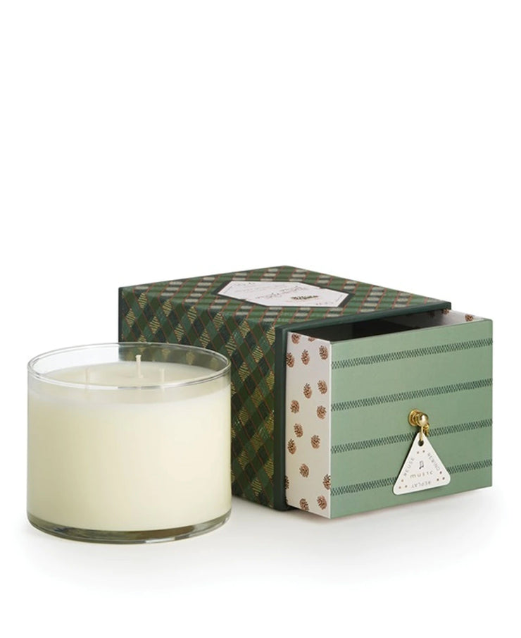 holiday music box candles - various scents