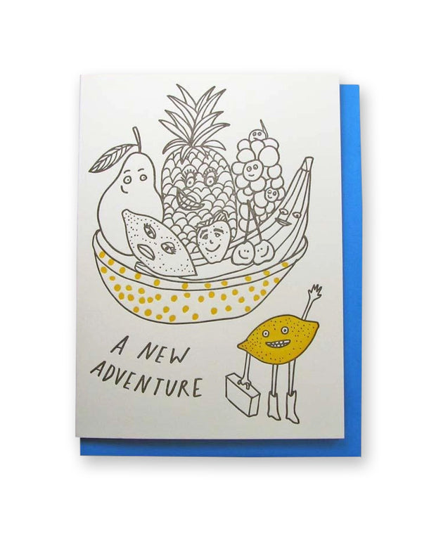 new adventure lemon card