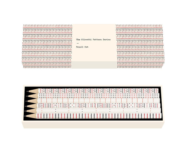 olivetti pattern series pencil set