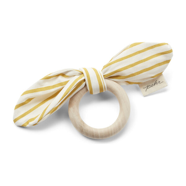 on the go teether - marigold & pebble