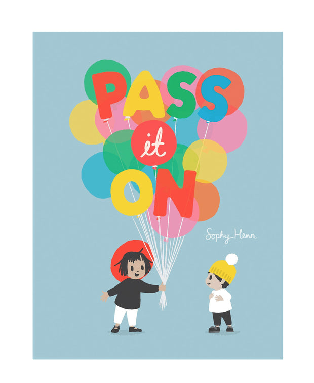 pass it on book
