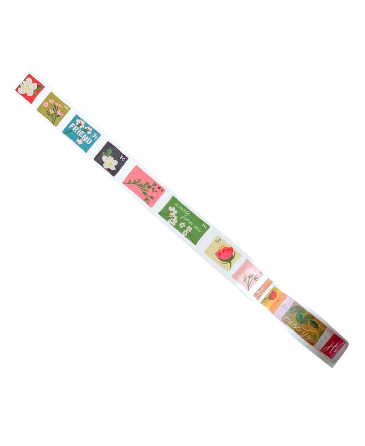 washi tape - postage stamps and special delivery