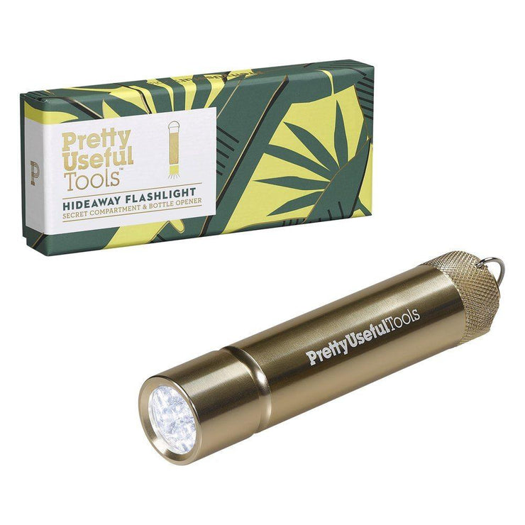 hideaway flashlight - gold