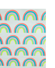 rainbows wrapping sheet