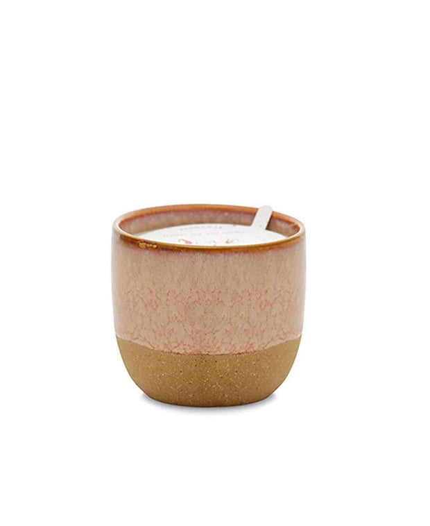 reactive dripped glaze 6 oz ceramic candles